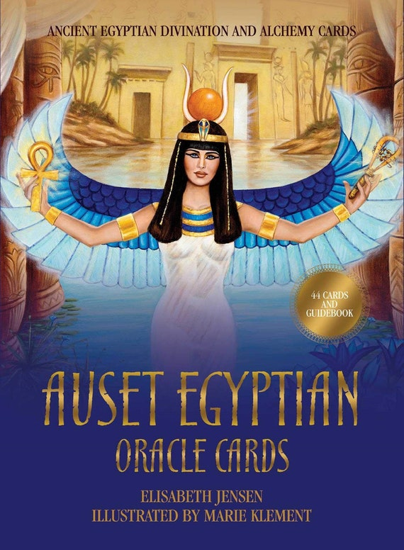 Auset Egyptian Oracle Cards: Ancient Egyptian Divination and Alchemy Cards ( Rockpool Oracle Card )