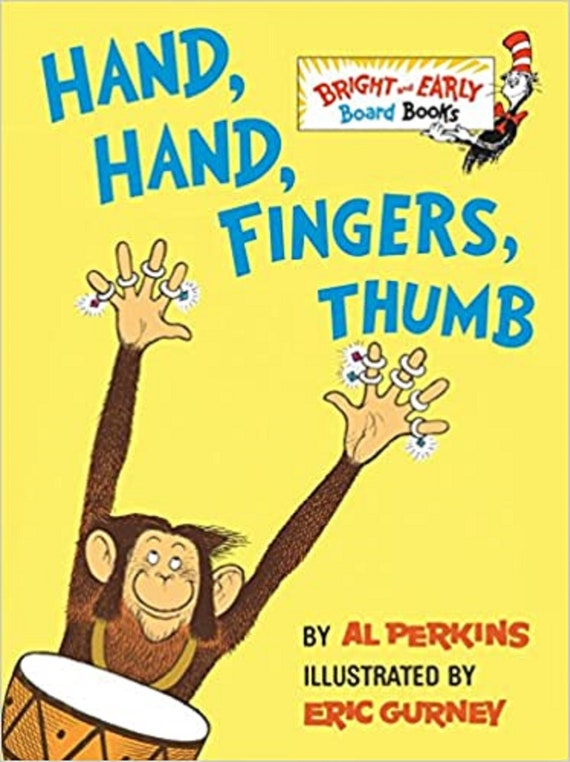 Hand, Hand, Fingers, Thumb ( Bright & Early Board Books )
