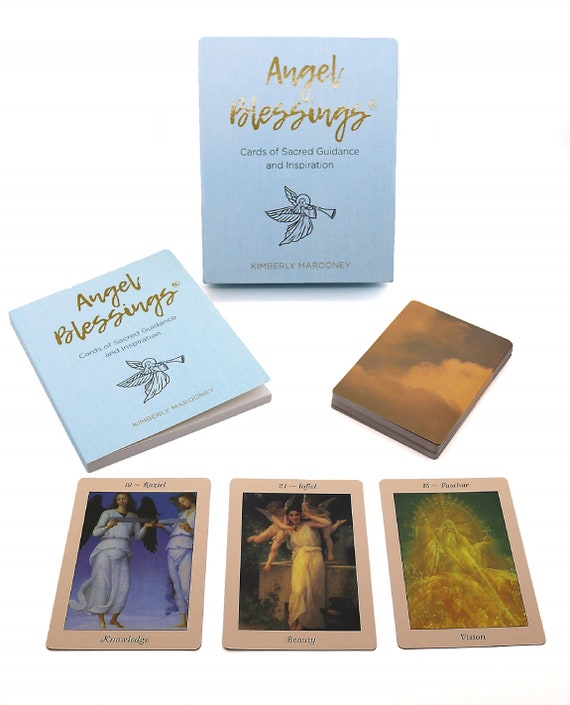 Angel Blessings: Cards of Sacred Guidance and Inspiration [With Book(s)]