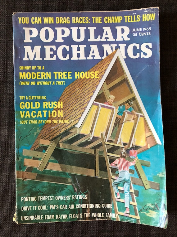 Popular Mechanics, 1965 Magazine