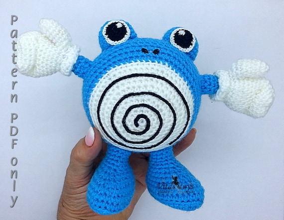 PokemonGo! CrochetGo! : how to crochet a Great Ball ! - free pattern | 442x570