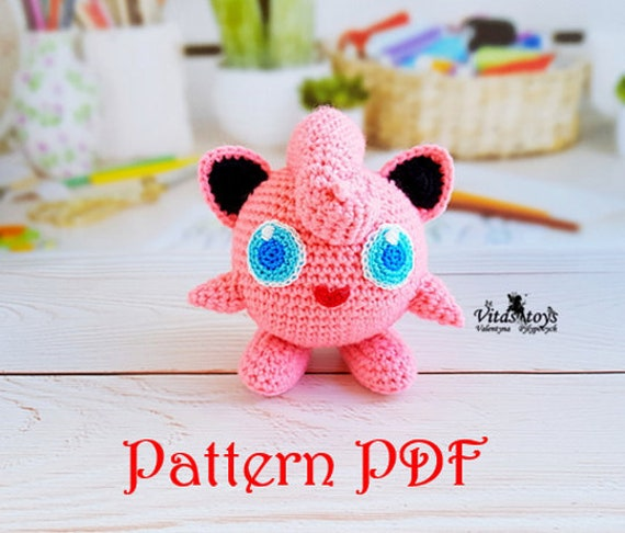 Jigglypuff (Free Amigurumi Patterns) | Amigurumi pattern, Pokemon ... | 486x570
