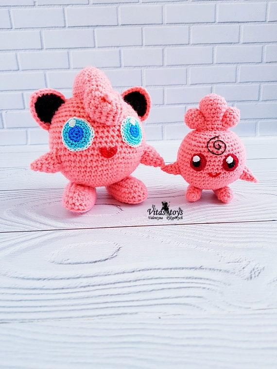 Jigglypuff Amigurumi Pattern | Pokemon crochet pattern, Crochet ... | 760x570