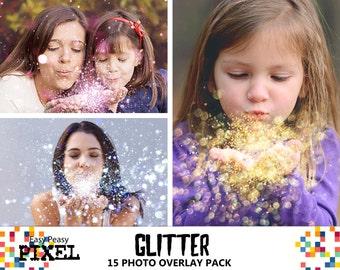 GLITTER OVERLAYS, Blowing Glitter Overlays, Glitter Overlay, Overlays, Photo Overlays, Wedding Overlays, Conffeti Overlays