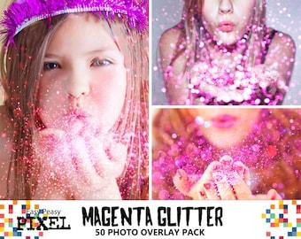 BLOWING GLITTER OVERLAYS, Photoshop Overlays, Glitter Overlays, Glitter Overlay, Photo Overlays, Bokeh Overlays, Pixie Dust Overlays