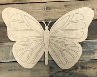 Melrose Spring Decor Pastel Butterfly Door Wreath Hanger 3 Asst Colors