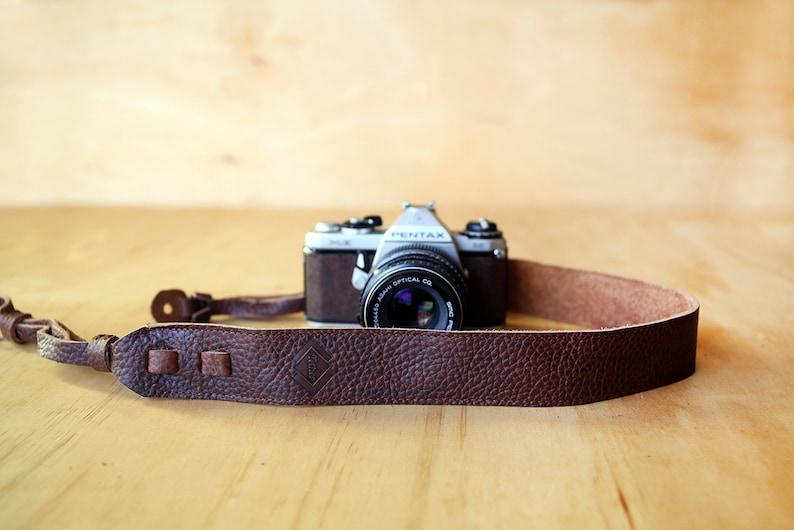 Nikon camera strap Brown Leather Camera Strap for DSLRSLR camera Canon camera strap Personalized Camera Strap DSLR Camera Strap
