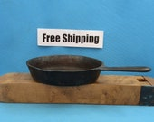 Vintage Wagner NO. 3 Cast Iron Skillet Fry Pan, 1063 J, Kettle Cauldron Cookware, Free Shipping