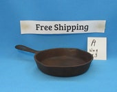 Vintage Antique Wagner 3 Cast Iron Skillet, 1053 P, Cookware, Free Shipping