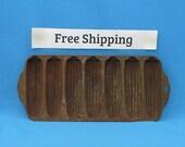 Vintage Antique Griswold Corn Bread Pan, Cast Iron. No. 273, Crispy Corn Stick Pan, Free Shipping