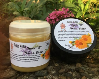 Stretch Mark Butter - Organic Ingredients