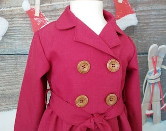 6881fe8decde Girls dress coat