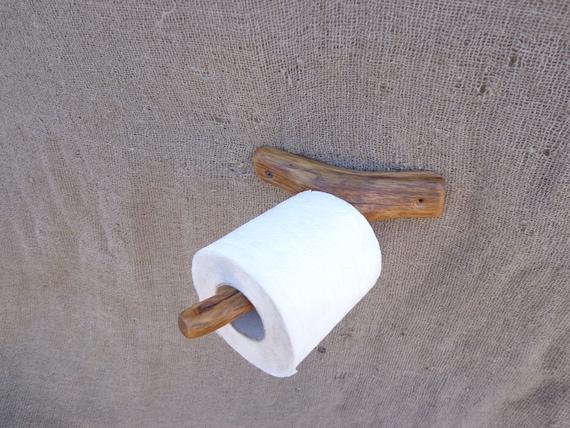 Levende tak wc rolhouder houten wc rolhouder rustieke etsy