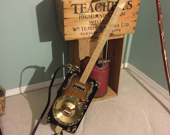 Cigar Box Resonator/Electric Guitar