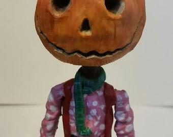 Jack Pumpkinhead Return to Oz inspired resin model sculpture