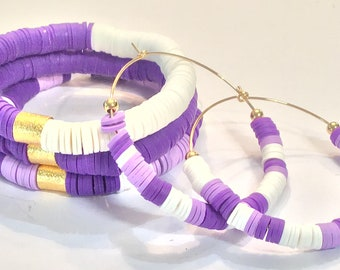 TCU Jewelry/TCU Earrings/TCU Bracelets/ College Jewelry/ Collegiate bracelets/Collegiate earrings