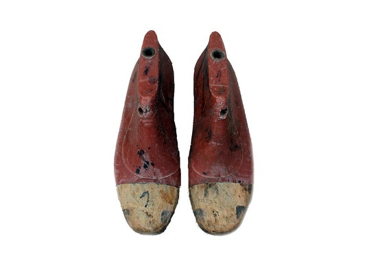 women plastic wood shoe lastsflat bottomantique decorresin  b9d2a70be