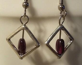 Droplets of Fire Earrings