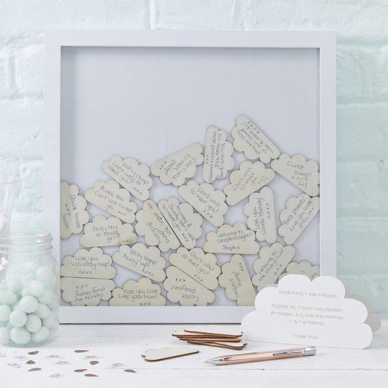 Livre d'or cadre 3D nuage