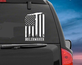 State of Louisiana Realistic American Flag Window Decal Various Sizes