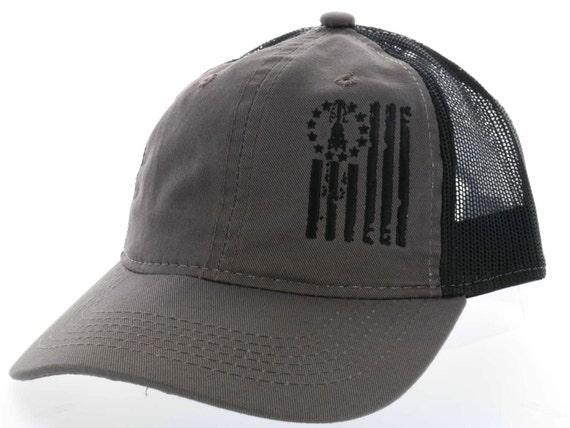 Oilfield Flag Trucker Hat Oilfield Hat Operator Hat Oil  3dea2449702