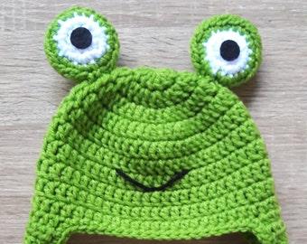 Crochet Hat Froggy