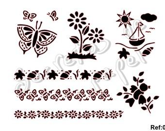 Miscellaneous stencil Template