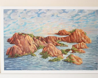 Surreal Landscape Painting: an unlikely biome