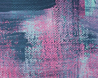 Abstract Wall Art Print - Pink Denim 1 // Artist Charlie Albright // Blog Moments by Charlie | Modern Abstract Art Print, Wall Art