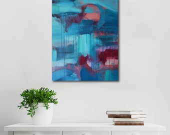 Colour Fields // Artist Charlie Albright // Blog Moments by Charlie // Abstract Art in Acrylics