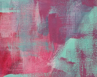 Abstract Wall Art Print - Skater Denim 1 // Artist Charlie Albright // Blog Moments by Charlie | Modern Abstract Art Print