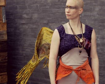 Burning Man wings. Burlesque costume wings. Wearable art. Size s-l. NOTICE: WINGS ONLY