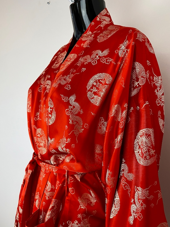 Chinese Red and Gold Robe