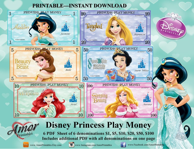 graphic relating to Toy Money Printable identify Disney Princess Participate in Fiscal Celebration Printables Printable Financial Disney Get together Mastering Financial