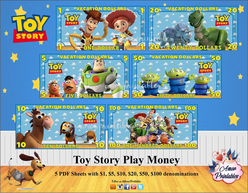 picture relating to Toy Money Printable titled Toy Tale Trip Financial Engage in Income Disneyland Monetary Enjoyable Monetary  Printable Enjoy Financial Holiday Entertaining