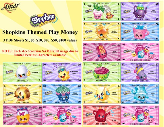 image about Printable Shopkins List referred to as Package deal ! Perform Economical, Shopkins Petkins, Shopkins Bash, Get together Printables, Printable Game titles, Printable Funds, Phony Monetary