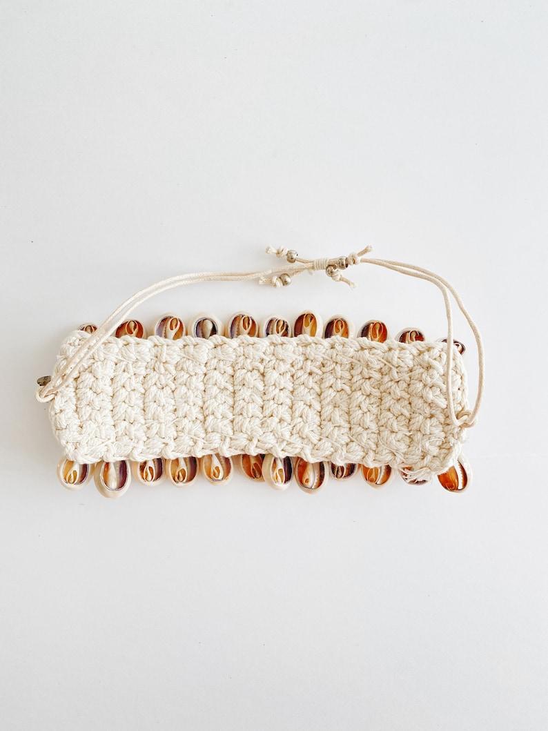 Cowrie Shell Cuff Bracelet