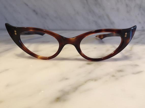 womens vintage cat eye glasses