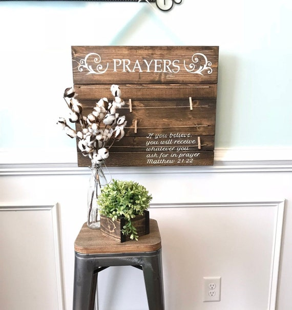 Prayer Board Display