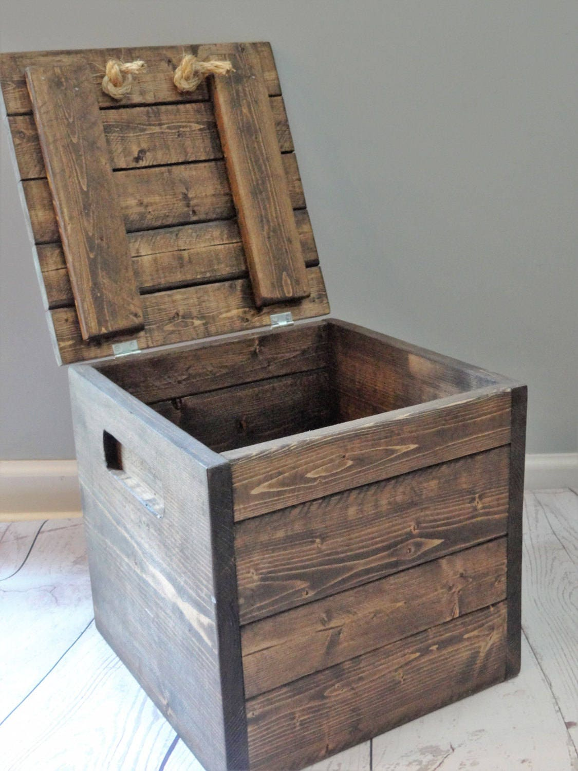 Square Wooden Box / Storage / Gift / Personalized / Toy Storage / Craft  Storage / Storage Bin / 12x12x12 / Small Wood Box / Gifts For Him
