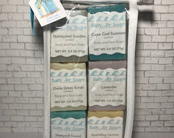 Guest Soaps with Soap Plank - Beach Shanty Set