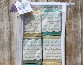 Guest Soaps with Soap Plank - Boat Set