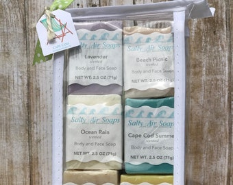 Guest Soaps with Soap Plank - Beach Chair Set