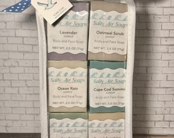 Guest Soaps with Soap Plank - Seagull Set