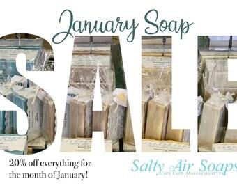 January Soap Sale