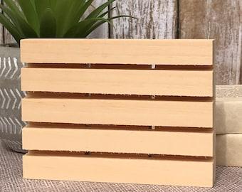 Wooden Soap Plank