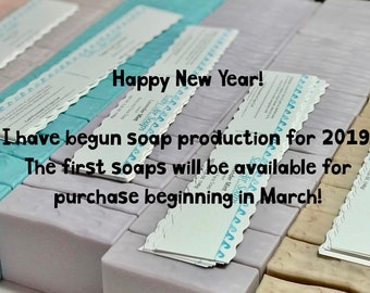 2019 Soap Production has started!