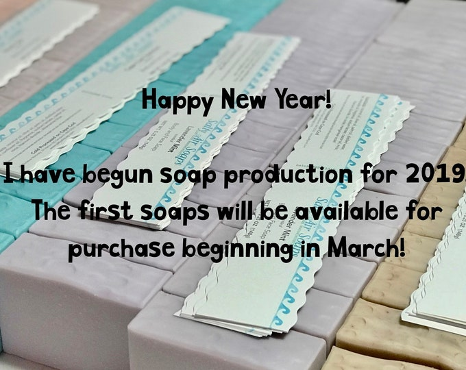 Featured listing image: 2019 Soap Production has started!