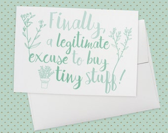Tiny greeting cards etsy finally a legitimate excuse to buy tiny stuff greeting card new baby card birth card baby shower card congratulations announcement m4hsunfo