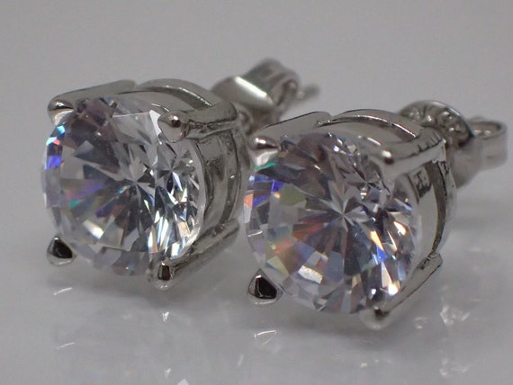 crystal rhinestone earring